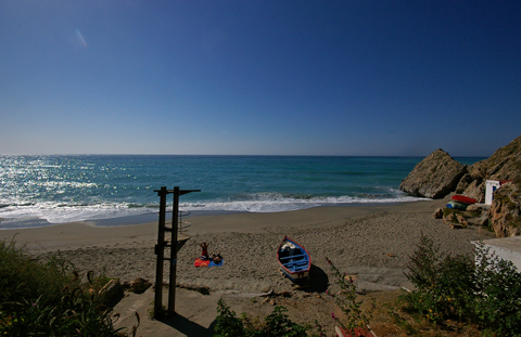 Picture of Carabeo Beach Nerja