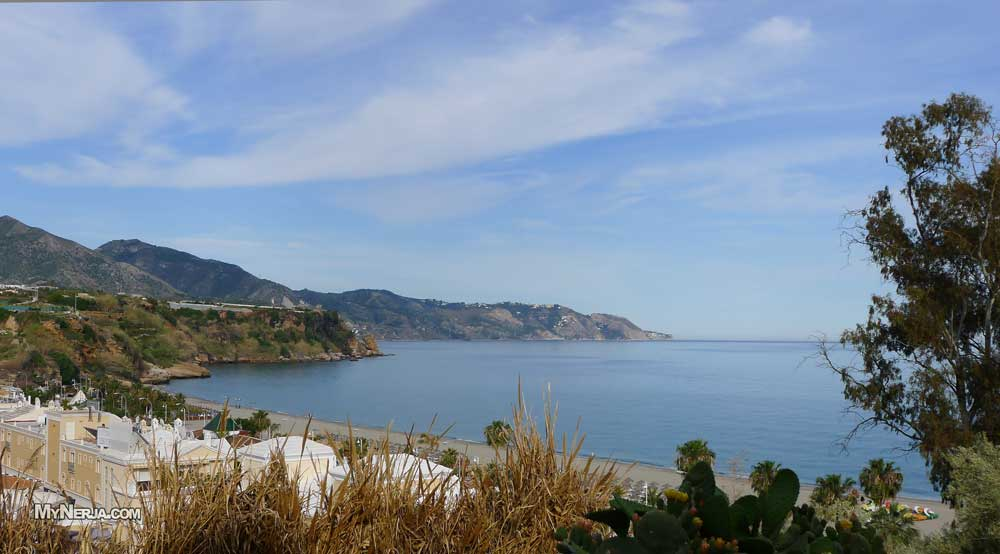 Playa Burriana Nerja