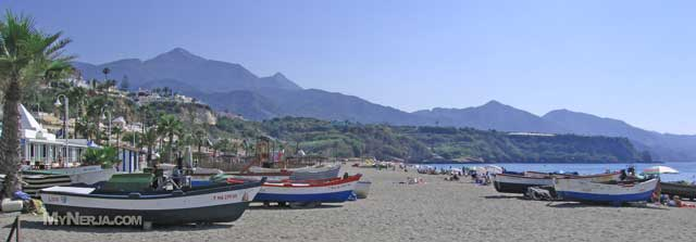 Picture of Burriana Beach Nerja