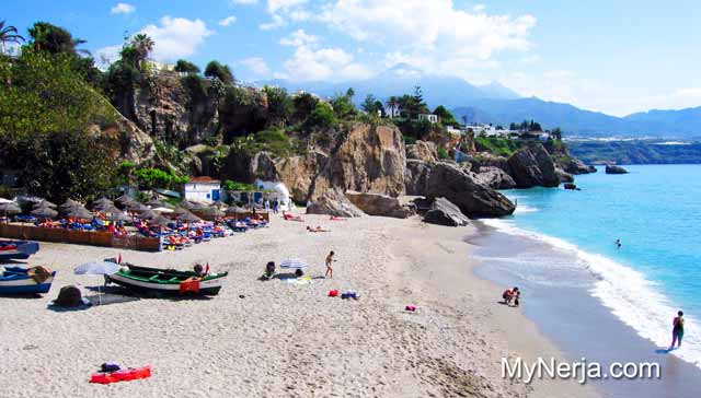 Picture of La Playa de Calahonda Nerja