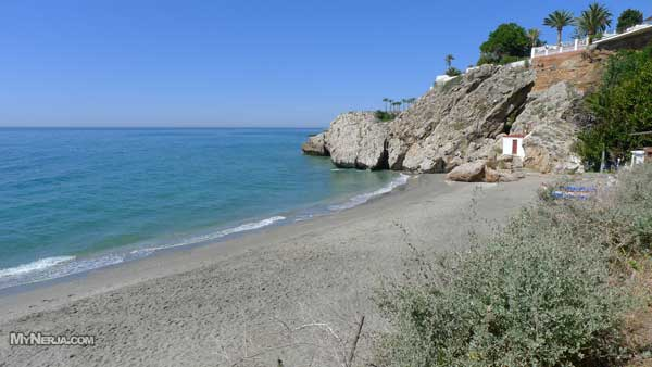 Carabeo Beach Nerja - May 2012