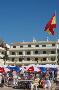 Plaza de Espana Nerja Residents Day