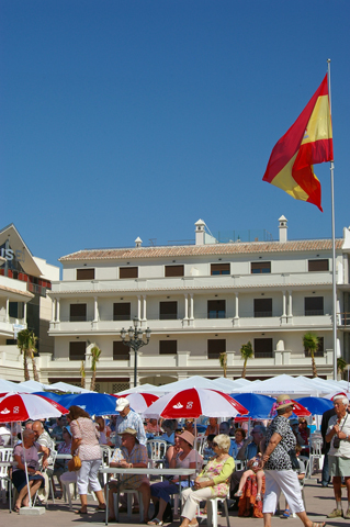 Plaza de Espana Nerja Residents Day
