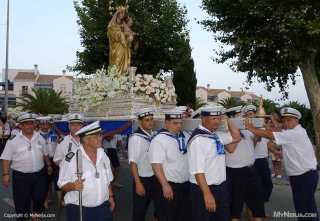 Festival Virgen Del Carmen Nerja 2016