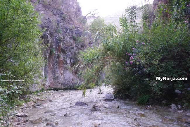Rio Chillar Nerja Gorge