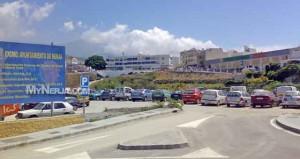 Free Car Park Nerja Behind Mercadona