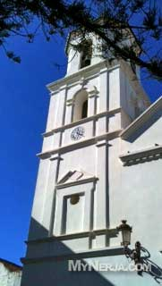 nerja church by the balcon