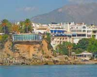 Balcon De Europa Nerja From The Sea