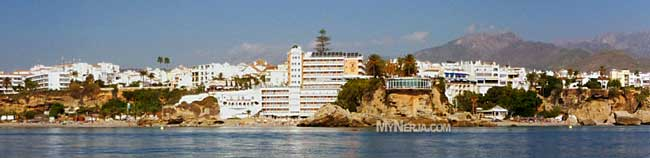 View Of Balcon De Europa Hotel Nerja & Apartments in Nerja