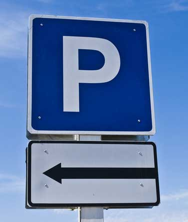 Nerja Car Park Sign