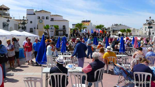 Residents Day Nerja - Sunday 6th May 2012