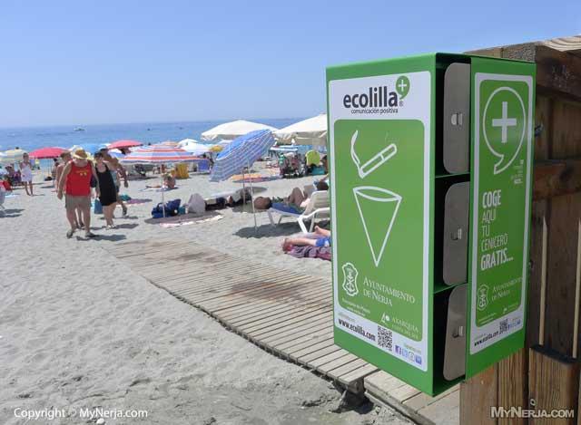Beach Ashtrays | MyNerja | Nerja Hotels, Restaurants ...