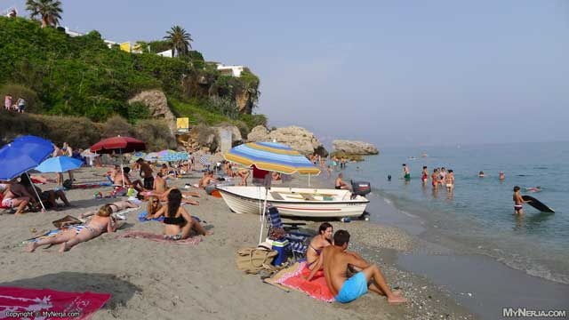 Carabeo Beach Nerja, Saturday 4th August, 2012 at 6pm