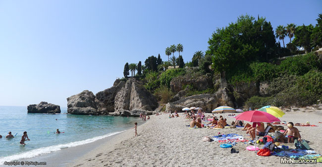 Carabeillo Beach Nerja, 22nd September 2012