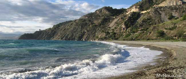 Canuelo beach Nerja