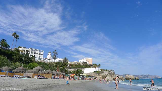 El Salon Beach, Nerja, September 3rd 2012