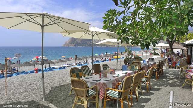 Beach Restaurant at La Herradura Beach