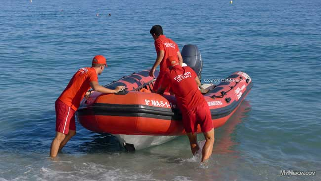 Beach Lifeguards Nerja