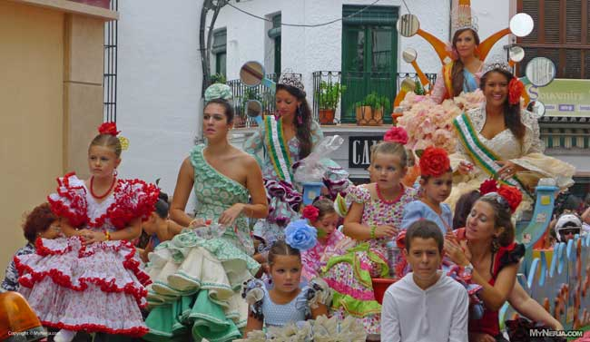 Nerja Feria Float