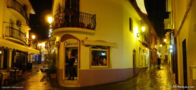 Rainy Night On Calle Cristo, Nerja