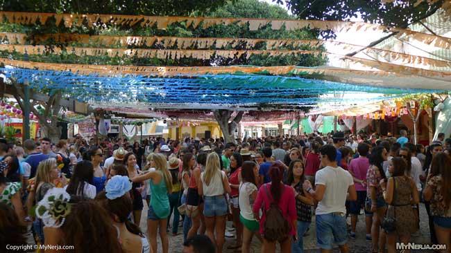 Nerja Feria 2012 - Tutti Frutti Plaza