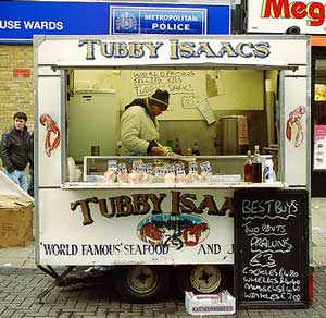 Tubby Isaacs Whelk Stall Walthamstow