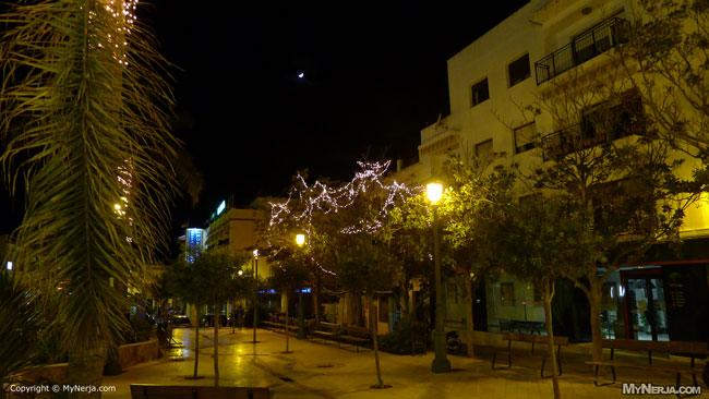 Plaza Ermita Christmas Lights