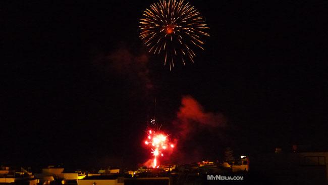Balcon de Europa Fireworks 2013