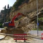 Heavy Rain Causes Landslide At Burriana, Nerja – Photos