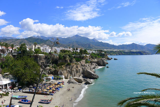 View From The Balcon de Europa, Nerja