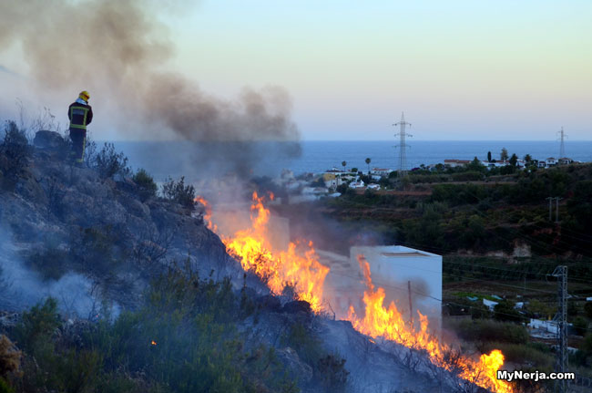 Nerja Fire