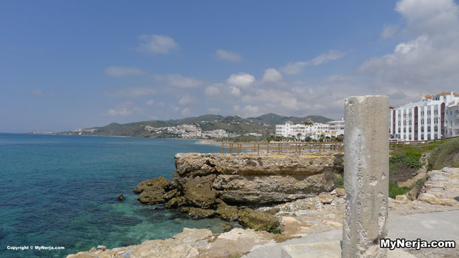 View Towards El Playazo Beach From The Torrecilla Watchtower