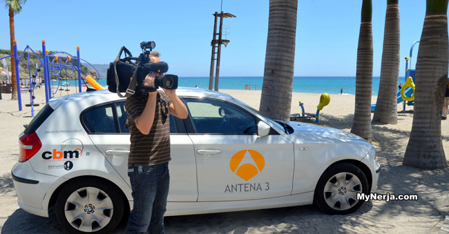 antena 3 burriana beach