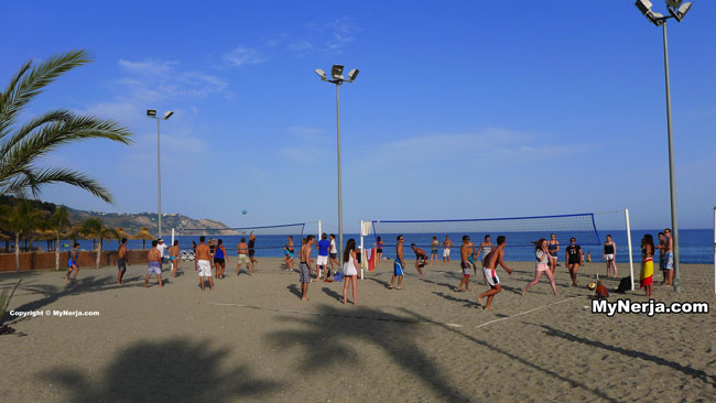 Burriana Beach Volleyball