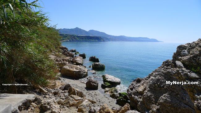 Burriana Beach Rocks