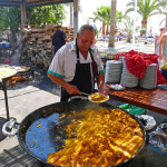Paella At Ayos Burriana Beach Nerja