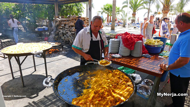 Paella At Ayos Burriana Nerja