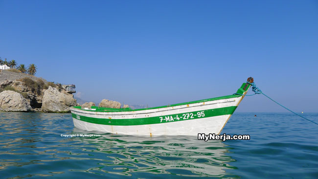 Wooden Fishing Boat At El Salon Beach