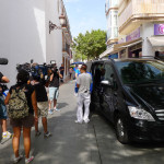 """Negocia Como Puedas"" Filming On The Streets Of Nerja"