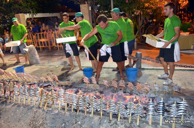 Sardines Dia del Carmen Nerja