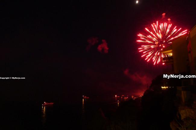 Virgen Del Carmen Nerja Fireworks