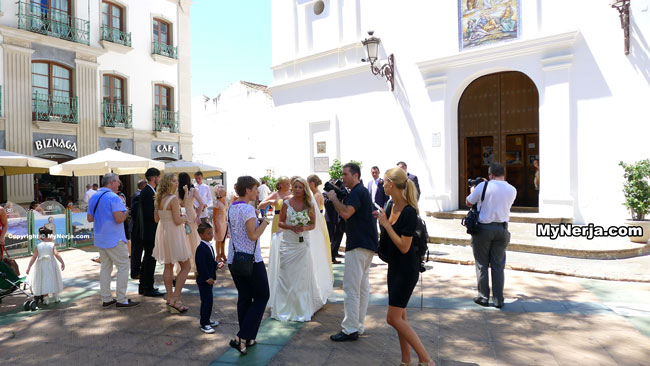 Nerja Wedding At The Balcon de Europa