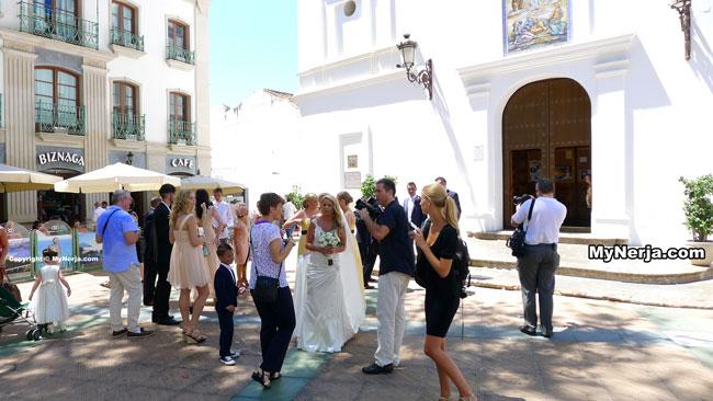 Nerja Wedding At The Balcon de Europa