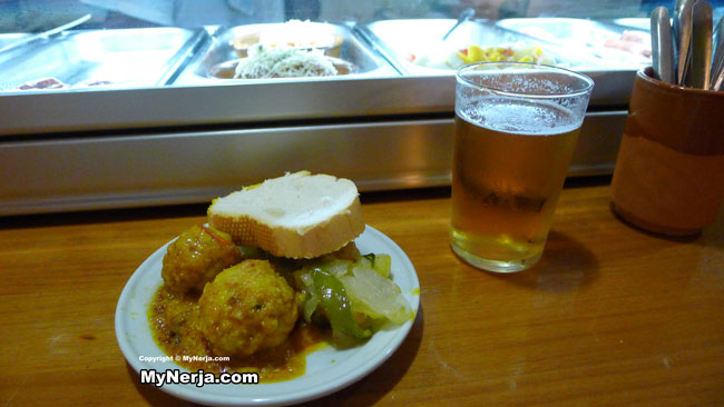 Tapas at Bar Turry Nerja