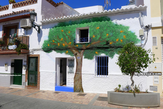 Orange Tree House Calle Carabeo Nerja