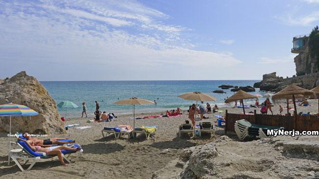 Calahonda Beach Nerja October 2013