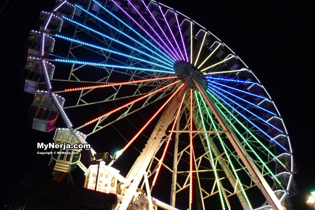 Nerja Feria Big Wheel