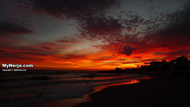 Sunset Torrecilla Nerja