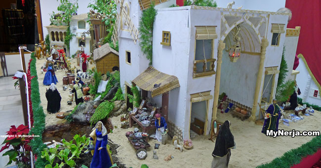 Nerja Municipal Belen Nativity Scene