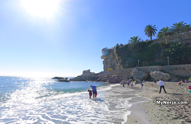 Calahonda Beach nerja December 2013